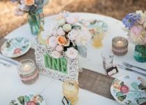 """wedding photo - DIY : marque-place à faire soi-même """" Mariage.com - Robes, Déco, Inspirations, Témoignages, Prestataires 100% Mariage"""