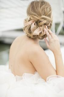 wedding photo - cheveux de mariage