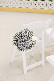 wedding photo - Chair Decor