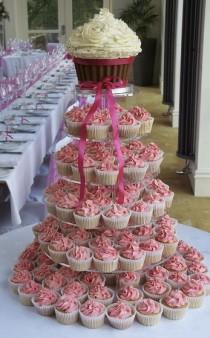 wedding photo - Wedding-Cupcakes in pinky