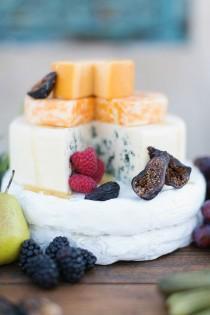 wedding photo - Сыр И Фрукты-Дисплей