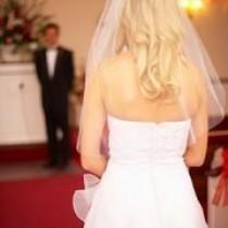 wedding photo - Haar-Ideen für Bräute mit langen Haaren und einem Schleier