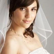 wedding photo - How To Determine What Length To Wear For A Bridal Veil