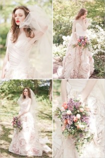 wedding photo - Pink Wedding Gown By Sareh Nouri