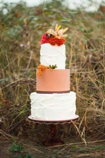 wedding photo - La inspiración de la boda del otoño caprichosa