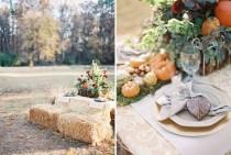 wedding photo - FALL Ideas Boda rústica
