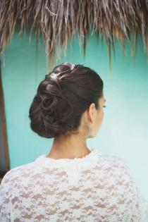 wedding photo - cheveux de mariage