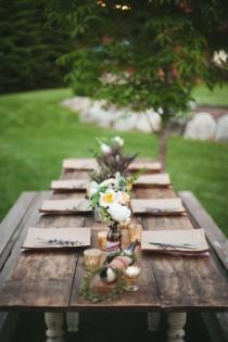 wedding photo - Tablescapes