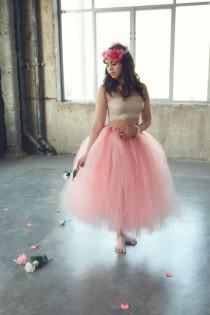 wedding photo - Adult Tutu Skirt Perfect For Weddings And Portraits - Create Own Tutu