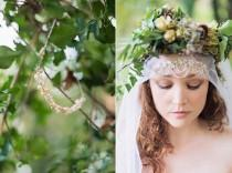 wedding photo - Ethereal Woodland Bride