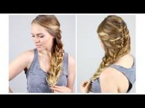 wedding photo - How To: Easy Mermaid Fishtail Braid!