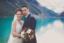 wedding photo - An Elegant Lake Louise Wedding