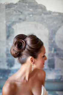 wedding photo - 31 Wedding Hairstyles: Day 23 - Sleek Updo