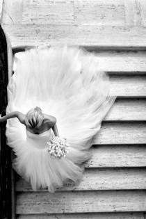 wedding photo - Hochzeiten-Braut-Tulle