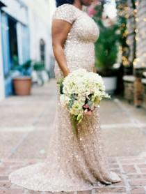wedding photo - Weddings-Bride-Sequins