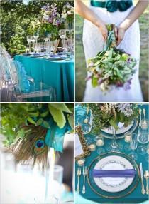 wedding photo - Peacock Wedding Ideas