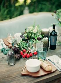 wedding photo - Garden Tablescapes