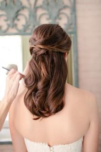 wedding photo - Half-Up-Wedding-Hair