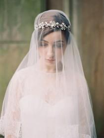 wedding photo - Bridal Accessories & Veils By Enchanted Atelier 2014 Collection