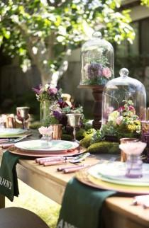 wedding photo - Garden Party Inspiration Shoot From Poppy & Plum Events
