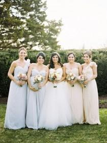 wedding photo - Demoiselles d'honneur