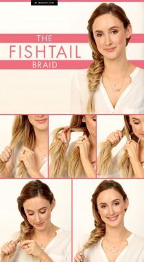 wedding photo - Tuesday Tutorial: The Fishtail Braid