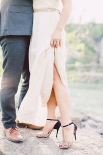 wedding photo - Romantic Engagement Session At Scarborough Bluffs