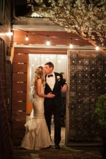 wedding photo - Chic San Francisco Cafe Wedding