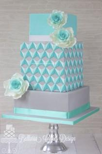 wedding photo - Stunning Wedding Cake & Cupcake Ideas