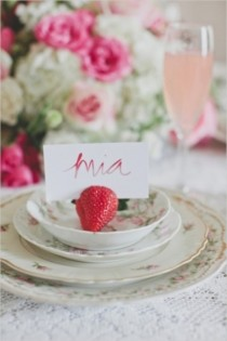 wedding photo - 23 Sweet Strawberry Wedding Ideas