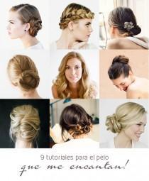 wedding photo - 9 peinados DIY para una boda