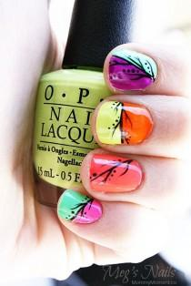 wedding photo - OPI Neon Collection