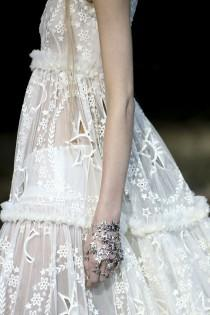 wedding photo - Alexander McQueen Fall 2014 RTW - Details