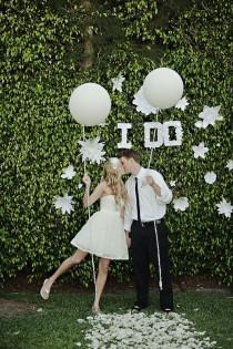 wedding photo - Black & White Wedding
