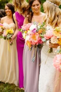 wedding photo - Colorful mariage Boho bricolage