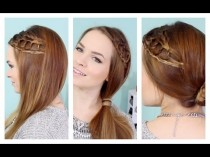 wedding photo - Coiffure rapide noués Braid