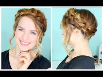 wedding photo - How To: Easy Crown Braid