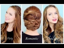 wedding photo - 3 Valentines Hairstyles For Any Occasion!!