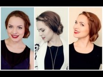 wedding photo - Quick & Easy porter n'importe où Side Bun!