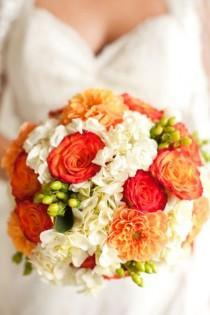 wedding photo - Оранжевый Свадьбы