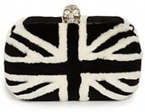 wedding photo - Alexander McQueen Britannia Mink Minaudiere