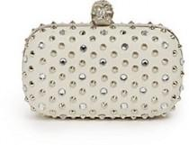 wedding photo - Alexander McQueen Studded Leather Minaudiere