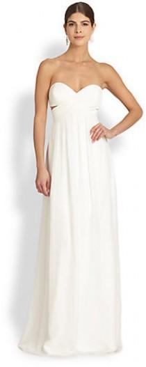 wedding photo - Jay Godfrey Radel Strapless Cutout Gown