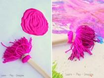 wedding photo - How to Make Homemade Paint Brushes - DIY & Crafts - Handimania
