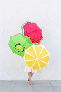 wedding photo - How to Make Fruity Slice Umbrella - DIY & Crafts - Handimania