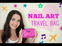wedding photo - What's in my Nail Art Travel Bag?!