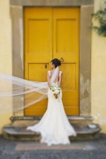 wedding photo - Chic Bridal Looks Italian Destination Wedding