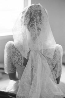 wedding photo - Retro Bridal Inspiration On Film