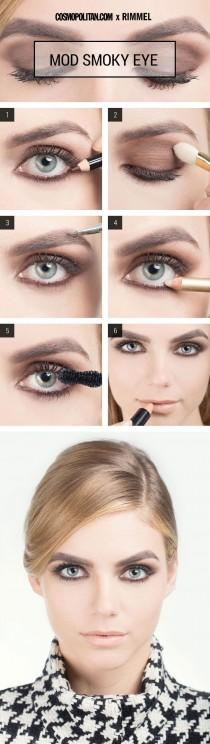 wedding photo - Makeup How-To: Mod Smoky Eye