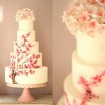 wedding photo - Cherry Blossom Wedding